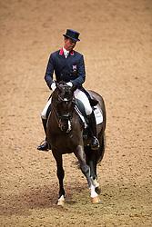 Hester Carl (GBR) - Uthopia<br /> Grand Prix - Reem Acra FEI World Cup Dressage Qualifier - The London International Horse Show Olympia - London 2012<br /> © Hippo Foto - Jon Stroud