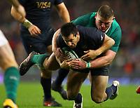 Rugby Union - 2017 Guinness Series (Autumn Internationals) - Ireland vs. Argentina<br /> <br /> Ireland's Tadhg Furlong tackles Argentina's Santiago Gonzalez Iglesias, at the Aviva Stadium.<br /> <br /> COLORSPORT/KEN SUTTON