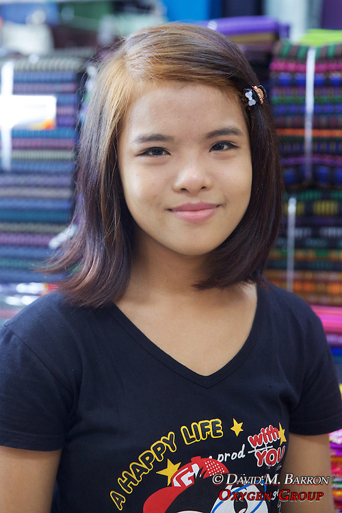 Girl At Gyee Zai Market