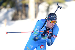 Fillon Maillet Quentin of France competes during the IBU World Championships Biathlon 4x7,5km Relay Men competition on February 20, 2021 in Pokljuka, Slovenia. Photo by Vid Ponikvar / Sportida