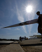 2006, National Rowing Championships,  Boating Area, Strathclyde Country Park,  Motherwell, SCOTLAND. 15.07.2006.  Photo  Peter Spurrier/Intersport Images email images@intersport-images.com.... Rowing Course, Strathclyde Country Park,  Motherwell, SCOTLAND. Sunrise, Sunsets, Silhouettes