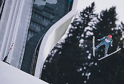 31.12.2019, Olympiaschanze, Garmisch Partenkirchen, GER, FIS Weltcup Skisprung, Vierschanzentournee, Garmisch Partenkirchen, Qualifikation, im Bild Philipp Aschenwald (AUT) // Philipp Aschenwald of Austria during his qualification Jump for the Four Hills Tournament of FIS Ski Jumping World Cup at the Olympiaschanze in Garmisch Partenkirchen, Germany on 2019/12/31. EXPA Pictures © 2019, PhotoCredit: EXPA/ JFK