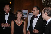 Richard Strange and Sarah Miller. Conde Nast Traveller Tsunami Appeal dinner. Four Seasons  Hotel. Hamilton Place, London W1. 2 March 2005. ONE TIME USE ONLY - DO NOT ARCHIVE  © Copyright Photograph by Dafydd Jones 66 Stockwell Park Rd. London SW9 0DA Tel 020 7733 0108 www.dafjones.com