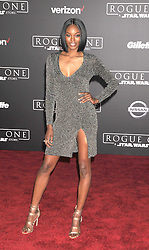 December 10, 2016 - Los Angeles, CA, United States of America - Eugena Washington arriving at the Star Wars ''Rogue One'' World Premiere at the Pantages Theater on December 10 2016 in Hollywood, CA  (Credit Image: © Famous/Ace Pictures via ZUMA Press)