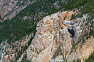 Nickel Plate Mountain above the mining town of Hedley in the Similkameen Valley of British Columbia, Canada