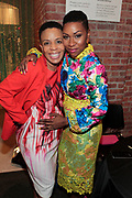 Brooklyn, New York-June 1- United States:  (L-R) New York City Council Member Laurie Cumbo and Author/Curator Shantrell P. Lewis attend the Brooklyn Museum's Fashion Night: Modern Black Dandies celebrating the art and style in honor of Author Shantrelle P. Lewis's new book ' Dandy Lion: The Black Dandy and Street Style held at the Brooklyn Museum on June 1, 2017 in Brooklyn, New York. (Photo by Terrence Jennings/terrencejennings.com)