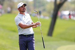 March 15, 2019 - Ponte Vedra Beach, FL, U.S. - PONTE VEDRA BEACH, FL - MARCH 15: Jason Day of Australia plays a shot on the ninth hole during the second round of THE PLAYERS Championship on March 15, 2019 on the Stadium Course at TPC Sawgrass in Ponte Vedra Beach, Fl.  (Photo by David Rosenblum/Icon Sportswire) (Credit Image: © David Rosenblum/Icon SMI via ZUMA Press)