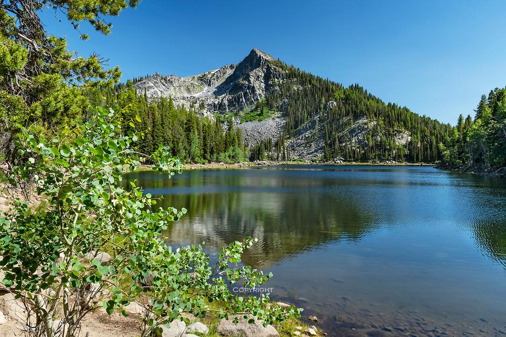Louie Lake, Salmon River Mountains, Idaho