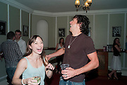 HANNAH VASSALLO; JOHNNY WRIGHT, Party in theatre bar to celebrate a Cast change for DIRTY DANCING, THE ALDWCH THEATRE, London ,28 July 2010.<br />  <br /> -DO NOT ARCHIVE-© Copyright Photograph by Dafydd Jones. 248 Clapham Rd. London SW9 0PZ. Tel 0207 820 0771. www.dafjones.com.