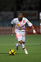 FOOTBALL - FRENCH CHAMPIONSHIP 2010/2011 - L1 - AS NANCY v SM CAEN  - 12/03/2011 - PHOTO GUILLAUME RAMON / DPPI -<br /> JOEL NGUEMO (NANCY)