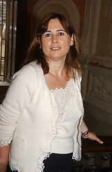 ALEXANDRA SHULMAN at a party to celebrate the publication of 'A Much Married Man' by Nicholas Coleridge held at the ESU, Dartmouth House,  37 Charles Street, London W1 on 4th May 2006.<br />