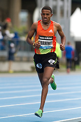 adidas Grand Prix track & field: Diamond League professional meet, mens 5000 meters, Hagos Gebrhiwet, Ethiopia