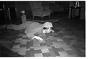 Tommy Leigh-Pemberton,  St Moritz 1985© Copyright Photograph by Dafydd Jones 66 Stockwell Park Rd. London SW9 0DA Tel 020 7733 0108 www.dafjones.com