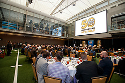 General images during the Peach Bowl's 50th Anniversary party held at the College Football Hall of Fame, Monday, November 14, 2017, in Atlanta. (Todd Kirkland via Abell Images for Chick-fil-A Peach Bowl)