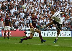 May 26, 2018 - London, England, United Kingdom - Fulham's Aleksandar Mitrovic.during the Championship Play-Off Final match between Fulham and Aston Villa at Wembley, London, England on 26 May 2018. (Credit Image: © Kieran Galvin/NurPhoto via ZUMA Press)