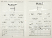 All Ireland Senior Hurling Championship Final, .Brochures,.09.05.1943, 05.09.1943, 5th September 1943, .Antrim 0-4, Cork 5-16,.Minor Dublin v Kilkenny, .Senior Antrim v Cork, .Croke Park, ..Antrim Senior Team, J Hurl, Goalkeeper, J Curry, Right corner-back, C Murphy, Full-back, W Graham, Left corner back, P McGarry, Right half-back, J Walsh, Captain, Centre half-back, Patk McKeown, Left half-back, John Bateson, Midfielder, Noel Campbell, Midfielder, D McKillop, Right half-forward, J Butler, Centre half-forward, Jos Mullen, Left half-forward, T Armstrong, Right corner-forward, D McAllister, Centre forward, Saml Mulholland, Left corner forward, Substitutes, T Walsh, S McNeill, D Boylan, W Best, G. McAteer, Seamus Quinn, ..Cork Senior Team, J Mulcahy, Goalkeeper, W Murphy, Right corner-back, B Thornhill, Full-back, C Murphy, Left corner-back, A Lotty, Right half-back, D J Buckley, Centre half-back, J Young, Left half-back, J Lynch, Midfielder, C Cotterell, Midfielder, J Condon, Right half-forward, C Ring, Centre half-forward, M Kinnefick, Captain, Left half-forward, J Quirke, Right corner-forward, T Sullivan, Centre forward, M Brennan, Left corner-forward, Substitutes, P O'Donovan, J O'Sullivan, B Murphy, P Hayes, P Healy, ..Referee, Dr J J Stuart,
