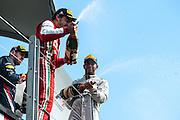 June 7-9, 2013 : Canadian Grand Prix. Fernando Alonso, Ferrari, Lewis Hamilton, Mercedes, Sebastian Vettel, Red Bull/Renault , RB9 , F138 , F1 W04
