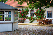 Courtyard in southern Sweden