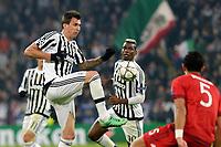 Mario Mandzukic Juventus <br /> Torino 23-02-2016 Juventus Stadium, Football Champions League 2015/2016 Round of 16 Juventus - Bayern Munich / Juventus - Bayern Monaco .  Foto Filippo Alfero / Insidefoto