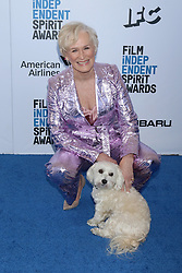 February 23, 2019 - Santa Monica, CA, USA - LOS ANGELES - FEB 23:  Glenn Close, Pip at the 2019 Film Independent Spirit Awards on the Beach on February 23, 2019 in Santa Monica, CA (Credit Image: © Kay Blake/ZUMA Wire)