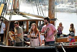 © Licensed to London News Pictures. 22/07/2012. Bristol, UK. Bristol Harbour Festival in Bristol docks.  22 July 2012..Photo credit : Simon Chapman/LNP