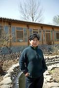 Sally Liu in Songzhuang, outside Beijing.