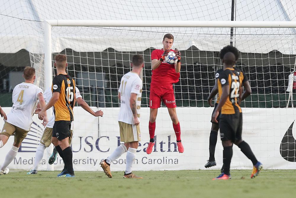 Louisville City FC vs. Charleston Battery at MUSC Health Stadium in Charleston, S.C. on Saturday, July 14, 2018.<br /> Zach Bland/Charleston Battery