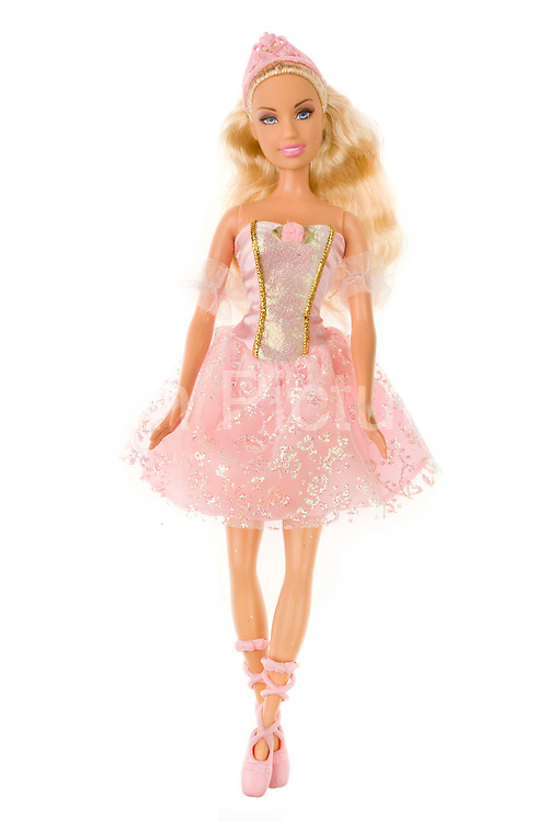 Relive the magic and excitement of your favourite movie 'The Nutcracker' with Barbie® dancing in the leading role! Princess Clara™ is dressed in a beautiful pink coloured dress with a corset style top, matching shoes and pink crown. 2008