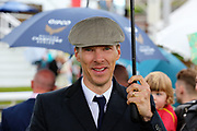 Film Star and Actor BENEDICT CUMBERBATCH in the Parade Ring during the MacMillan Charity Raceday held at York Racecourse, York, United Kingdom on 15 June 2019.
