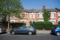 """© licensed to London News Pictures.  25/05/2011. London, UK. 29 Barlby Road (green door, right), North Kensington, London, where 15-year-old Isobel Reilly became unwell before being rushed to hospital where she died. Police are treating her death as """"unexplained"""", but officers were investigating whether she died after taking drugs. Please see special instructions for usage rates. Photo credit should read Ben Cawthra/LNP"""