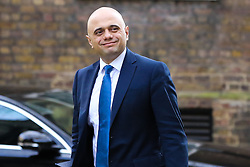 © Licensed to London News Pictures. 26/03/2019. London, UK. Sajid Javid - Home Secretary arrives in Downing Street for the weekly Cabinet meeting. Photo credit: Dinendra Haria/LNP