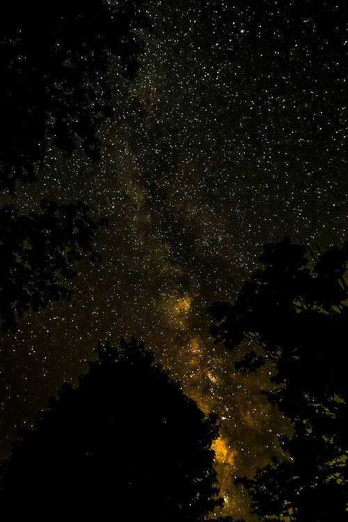 A pure sky during one of our camoing night in Smokey Mountains