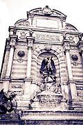 Fontaine Saint-Michel, Left Bank, Paris, France