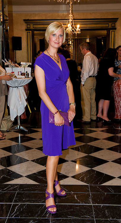 """Fiona Donovan, Madison  Boutique Galway at the Hotel Meyrick """"Bubbles & Delights"""" Fashion Soiree in aid of Childline ISPCC, where guests were treated to a race themed fashion showcase by Galway's leading boutiques & outlets"""". Photo:Andrew Downes"""