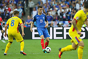 France Defender Laurent Koscielny during the Group A Euro 2016 match between France and Romania at the Stade de France, Saint-Denis, Paris, France on 10 June 2016. Photo by Phil Duncan.
