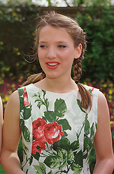 Debutante MISS SOPHIA DAWNAY at a fashion show in London on 11th April 1999.MPX 11