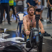 Lewis Hollows 5000m Heavyweight 5K race 10:30am<br /> <br /> <br /> www.rowingcelebration.com Competing on Concept 2 ergometers at the 2018 NZ Indoor Rowing Championships. Avanti Drome, Cambridge,  Saturday 24 November 2018 © Copyright photo Steve McArthur / @RowingCelebration
