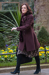 London, March 3rd 2015. Members of the cabinet arrive at 10 Downing Street for their weekly meeting. PICTURED: Theresa Villiers, Secretary for Northern Ireland.
