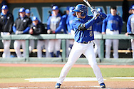 13 February 2015: Seton Hall's Chris Chiaradio. The University of North Carolina Tar Heels played the Seton Hall University Pirates in an NCAA Division I Men's baseball game at Boshamer Stadium in Chapel Hill, North Carolina. UNC won the game 7-1.