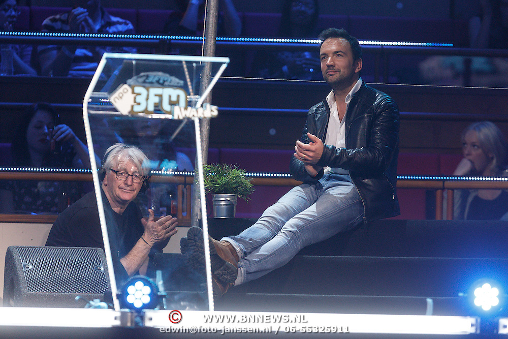 NLD/Utrecht/20150409 - Uitreiking 3FM Awards 2015, Gerard Ekdom en Tommy Burn
