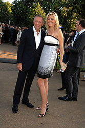 Jeweller LAURENCE GRAFF and NADJA SWAROVSKI at the annual Serpentine Gallery Summer Party in association with Swarovski held at the gallery, Kensington Gardens, London on 11th July 2007.<br /><br />NON EXCLUSIVE - WORLD RIGHTS
