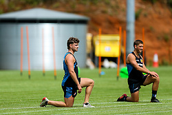 Jack and Sam Maunder look on as Exeter Chiefs take part in stage one training as Premiership Rugby clubs take the first steps towards a return to play in August after the Covid-19 enforced break - Rogan/JMP - 19/06/2020 - RUGBY UNION - Sandy Park - Exeter, England - Gallagher Premiership.