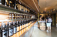 Brassneck Brewery, an artisan brewery, located in the Olympic Village Neighborhood, has a tasting room and a Growler Shop, Vancouver, British Columbia, Canada