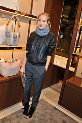 POLLY MORGAN at the Salvatore Ferragamo Old Bond Street Boutique Store Launch on 5th December 2012.