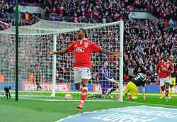 Bristol City's Mark Little celebrates his goal  - Photo mandatory by-line: Joe Meredith/JMP - Mobile: 07966 386802 - 22/03/2015 - SPORT - Football - London - Wembley Stadium - Bristol City v Walsall - Johnstone Paint Trophy Final