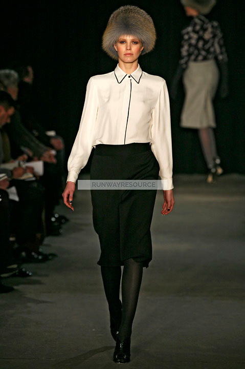 Ragnhild Jevne wearing the Thakoon Fall 2009 Collection