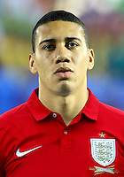 Football Fifa Brazil 2014 World Cup Matchs-Qualifier / Group H /<br /> San Marino vs England  0-8  ( Olympic Stadium - Serravalle , Republic of San Marino )<br /> Chris SMALLING of England ,  during the match between San Marino and England