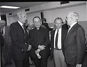 Presentation of two books, Bord na Gaeilge, Dublin,<br /> 16th May 1984