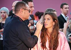 Victoria's Secret Fashion Show - Hair and Makeup, Paris, 2016, Paris, France. 30 Nov 2016 Pictured: Alessandra Ambrosio. Photo credit: MEGA TheMegaAgency.com +1 888 505 6342