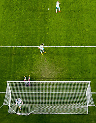 October 8, 2017 - Oslo, NORWAY - 171008 Chris Brunt and his teammates of Northern Ireland look dejected after scoring an own goal during the FIFA World Cup Qualifier match between Norway and Northern Ireland on October 8, 2017 in Oslo..Photo: Vegard Wivestad GrÂ¿tt / BILDBYRN / kod VG / 170029 (Credit Image: © Vegard Wivestad Gr¯Tt/Bildbyran via ZUMA Wire)